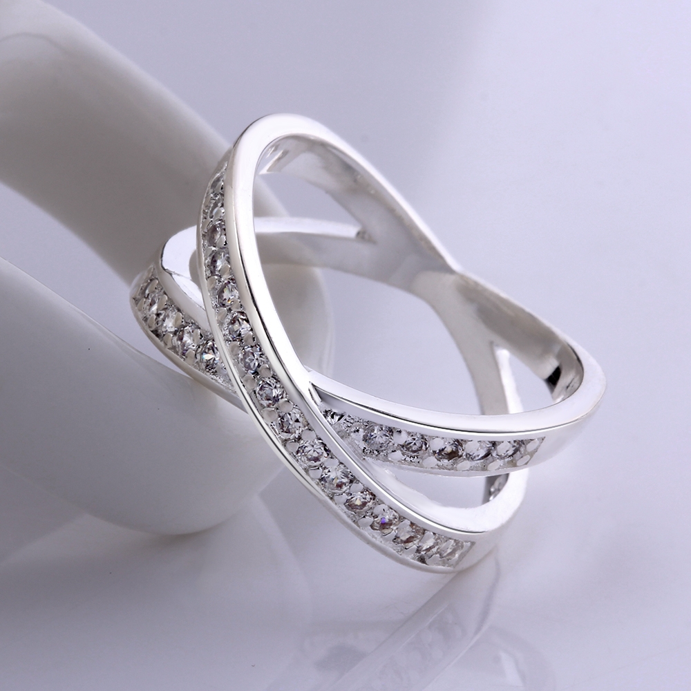 2015 New 925 silver rings Crystals Wedding rings for women ...