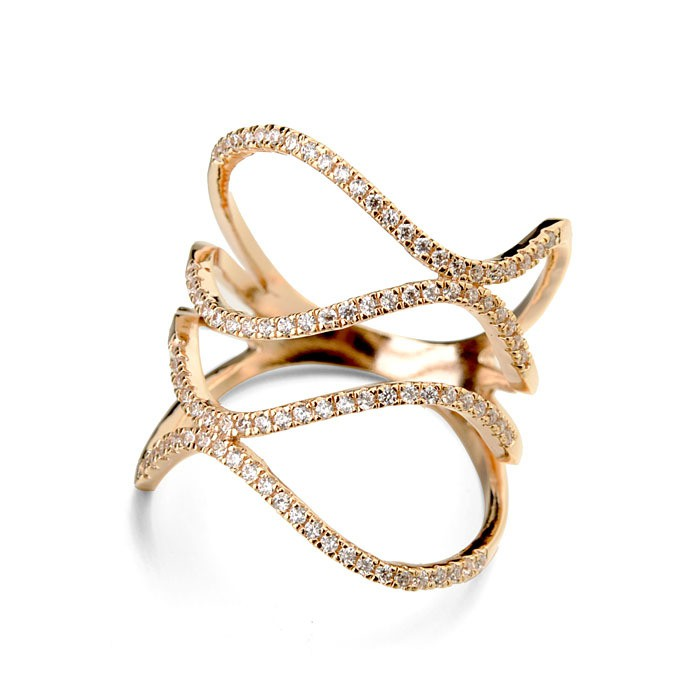 gold spiral ring india rings design ans jewels south