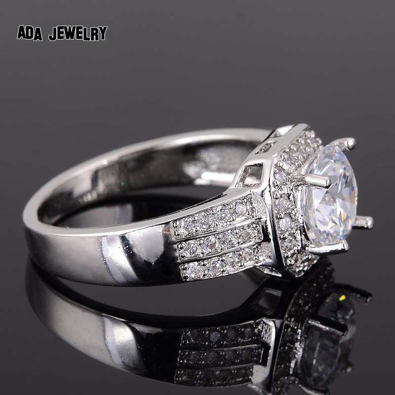 Zircon Rings For Women Wedding Ring Big Crystal Jewelry