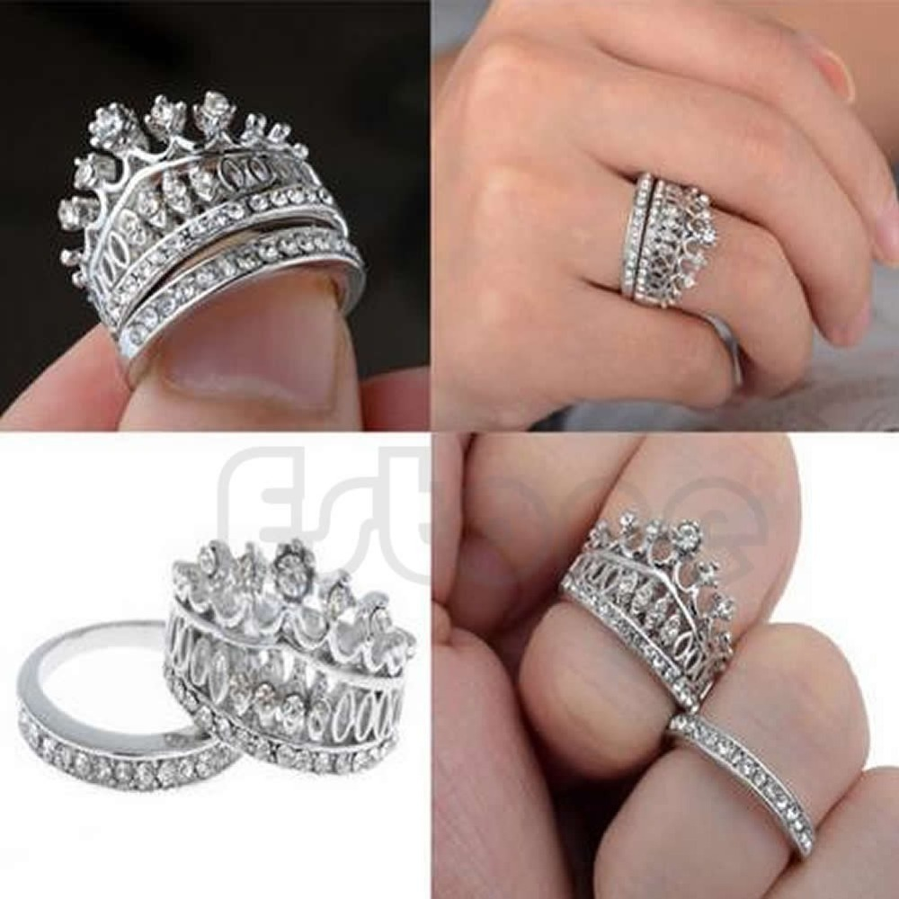 women silver wedding from rings stone size wieck product solitaire topaz for simulated sterling victoria diamond big crown filled