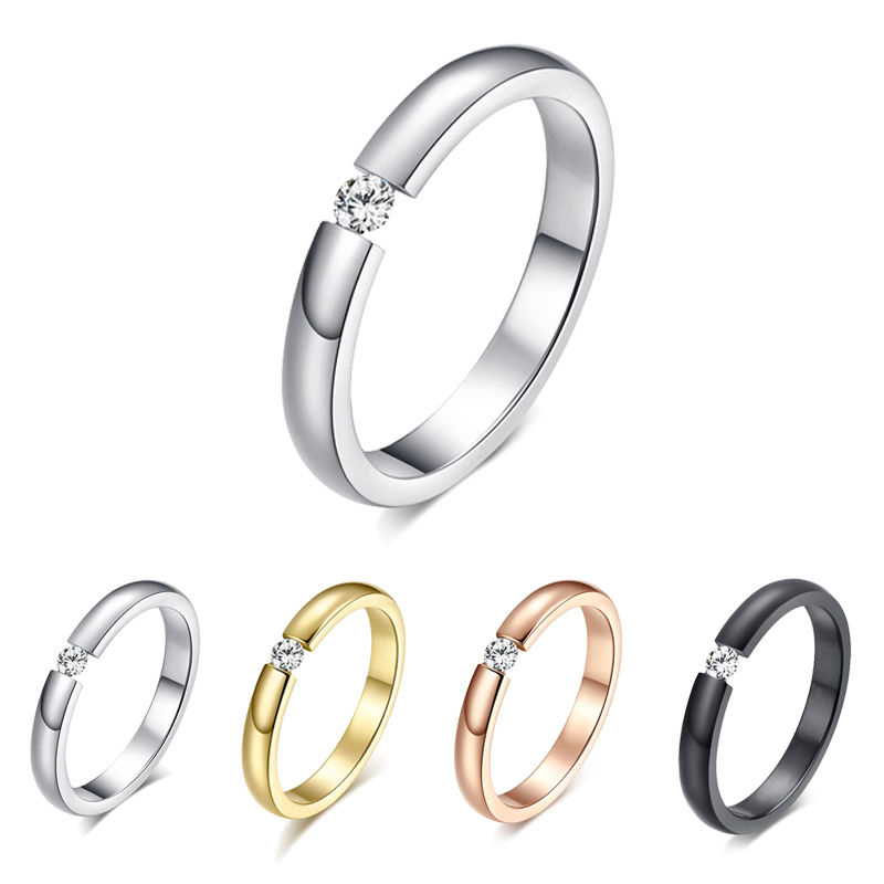 steel band mens cz gold tone jewelry dp ring rhinestone engagement signet um stainless rings